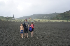 Black sand Piha beach
