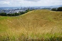 Mount Eden crater Auckland