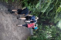 Hiking up Mount Maunganui