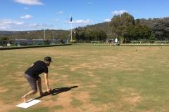 Lawn bowling in Jindabyne