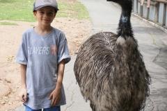 Blake and emu