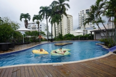 Hotel pool in Cairnes