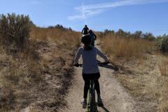 Boise-Jaida-Blake-Christian-riding-up-hill