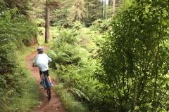 Blake riding Rotorua