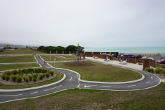 Awesome bike track for kids in Oamaru