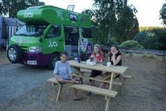 Campsite in Wanaka