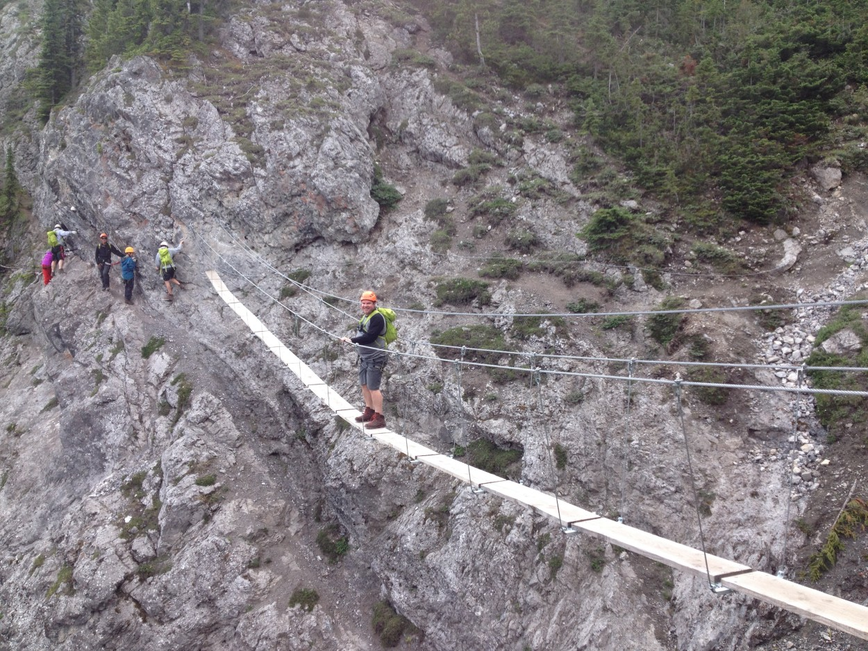 Norquay Via Ferrata