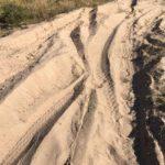 deep sand at the big-five marathon