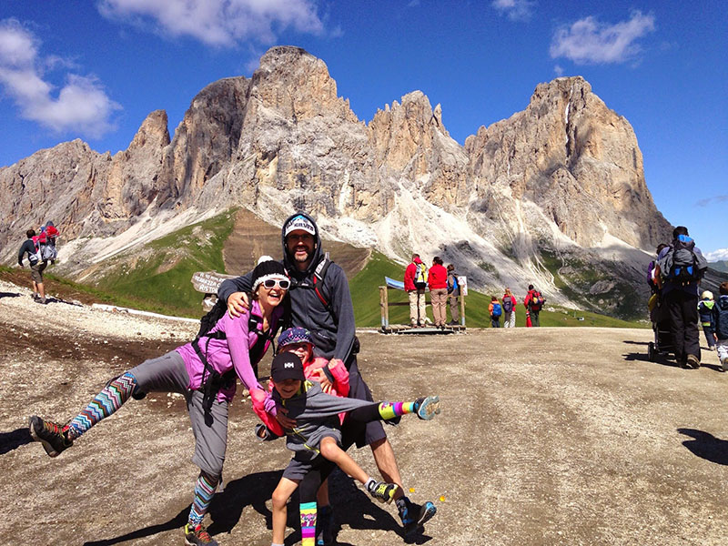 Manifest fun through travel - Italian Dolomites