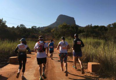 start of the the big-five half marathon