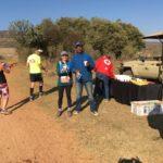 first station of the big-five half marathon