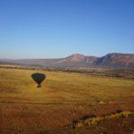 Entabeni with a hot air balloon shadow