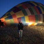 hot air balloon Michele